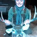 A Happy Girls 1st Buck